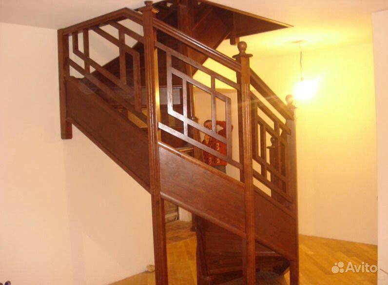 Ограждения деревянные для лестниц своими руками
