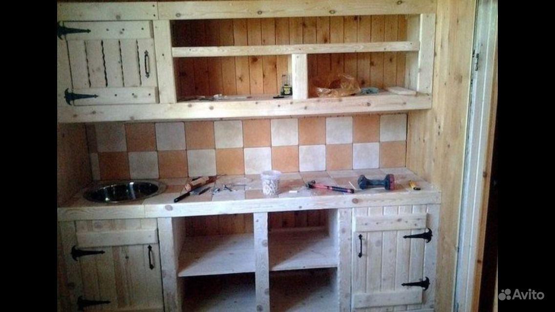 Кухонный гарнитур из досок своими руками чертежи