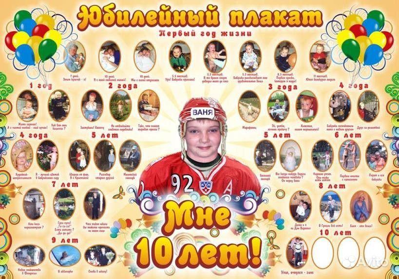 Плакат мальчику на день рождения 6 лет своими руками 53