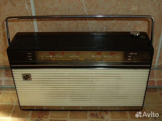 Радиоприёмник Банга - редкость