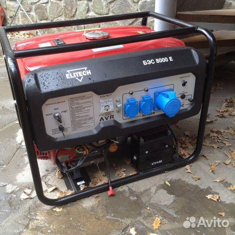 Генератор бензиновый elitech бэс 8000e Автоматическая регулировка