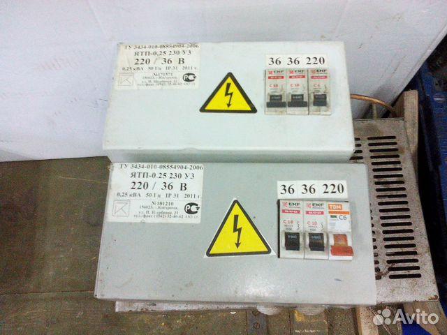 Понижающий трансформатор 220 36