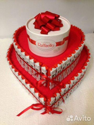 Торт с рафаэлло своими руками