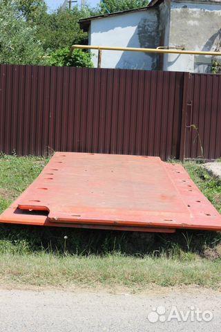 Дорожные плиты б/у много состояние хорошие с доставкой до объекта!