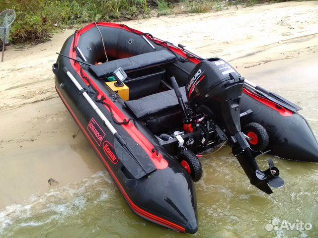 лодка командор kmd-470pro