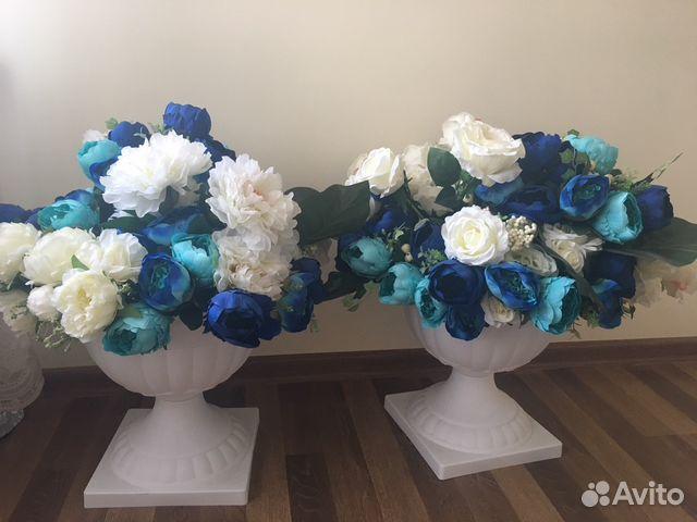 Искусственные цветы в вазах 89289621763 купить 1