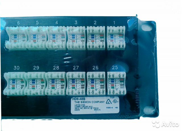 В продаже Патч-панель Siemon HD6-48B по доступной цене c комментариями поль