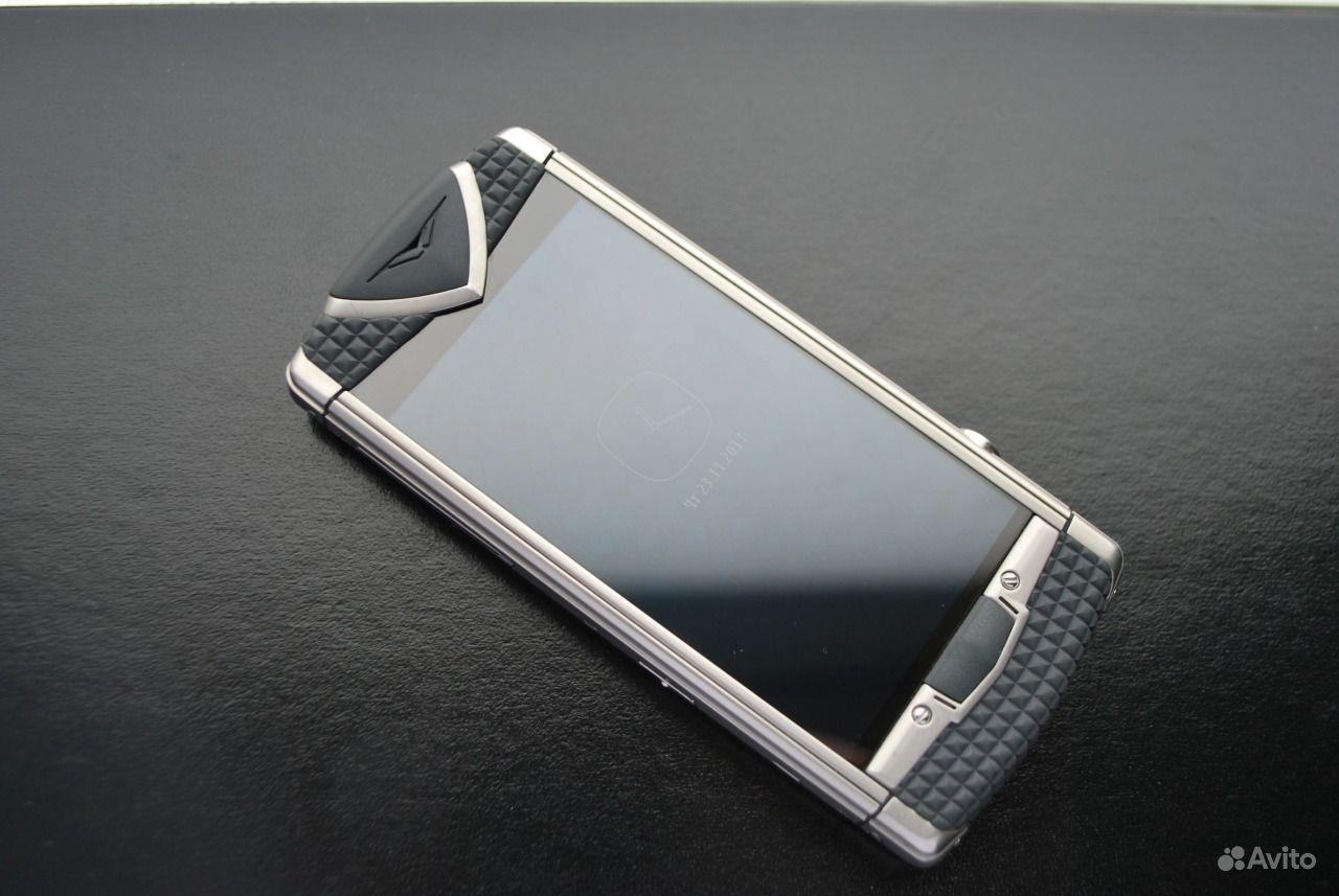 43f7a93250234 Мобильные телефоны. Vertu Constellation T Smile Train Grey б/у