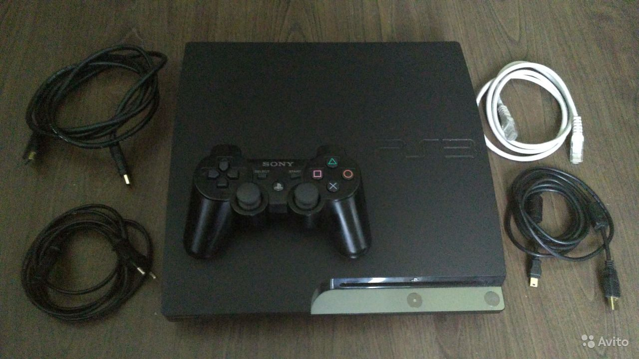Playstation 3 320 Gb + 32 игры
