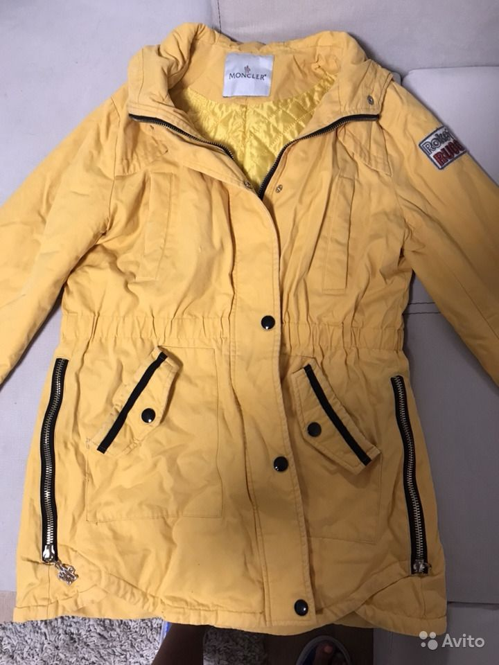 ca5482a9e5ee Куртка осенняя Moncler   Festima.Ru - Мониторинг объявлений