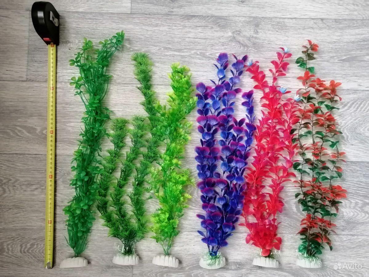 Искусственные растения для аквариума купить на Зозу.ру - фотография № 1
