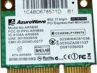 Wi-Fi модуль AzureWave AR5B95 mini PCI-E