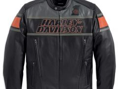 Мотокуртка rumble leather jacket Harley Davidson