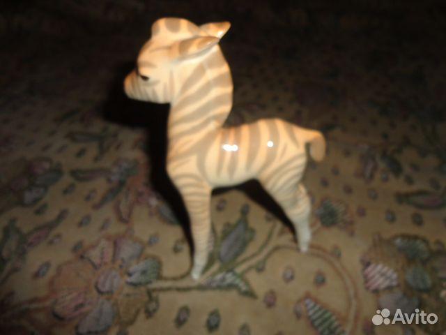 89061656450 Фарфоровая статуэтка Зебра