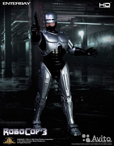 Enterbay Hot toys RoboCop 3 1/4— фотография №1