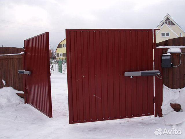 Куплю автоматические откатные ворота в сургуте цены ворота фото откатные для дачи