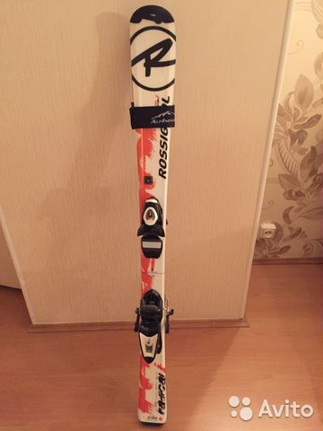068bd634ff0f Горные лыжи детские 120 см. Rossignol с креплениям   Festima.Ru ...