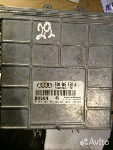 Блок управления двигателем Ауди 8D0907558A— фотография №1