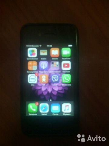 Apple iPhone 4S 32Gb Black/white купить - 4айфон