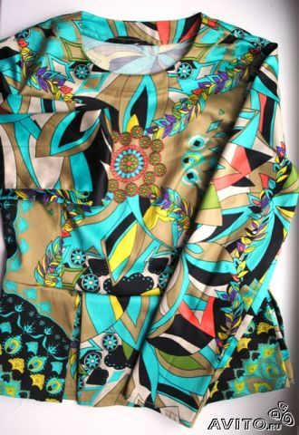 Блузка с баской с доставкой