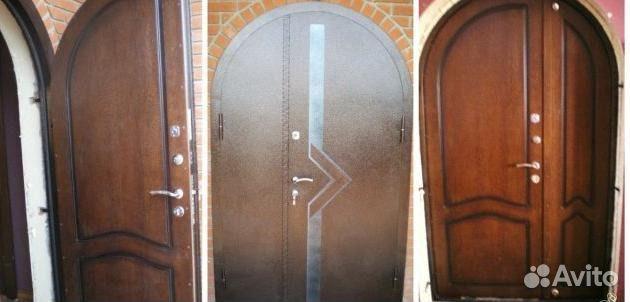 арочная стальная дверь цена