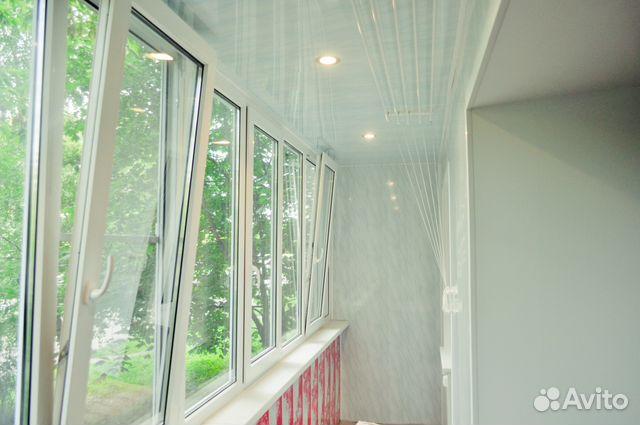 Услуги - остекление и отделка балконов и лоджий под ключ в м.