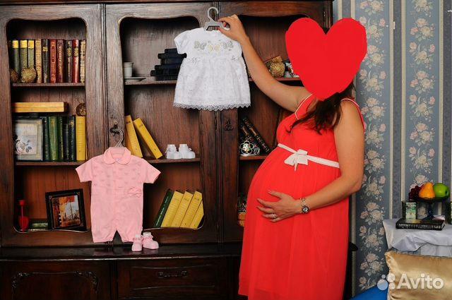 c22a2bcfad87ab7 Нарядное платье для беременной купить в Санкт-Петербурге на Avito ...