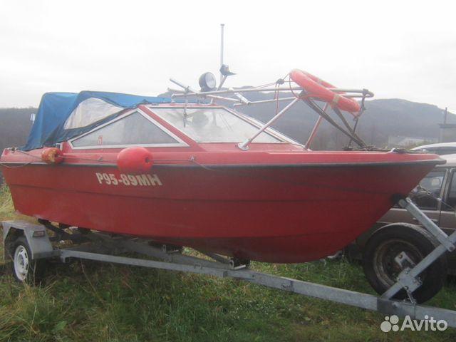 катера или моторные лодки бу купить на авито мурманская область