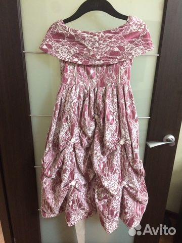 Авито платья для девочек воронеж
