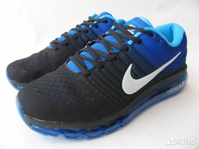 9eb78c68 Кроссовки Nike Air Max 2017 Черн.Носок Ф.Задник 45 купить в Санкт ...