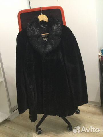 Шуба мужская мутон 50 размер