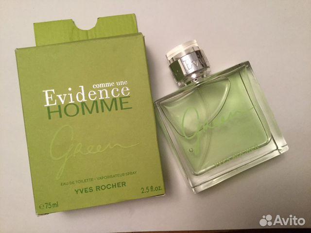 Evidence Homme Green мужской парфюм Yves Rocher Festimaru