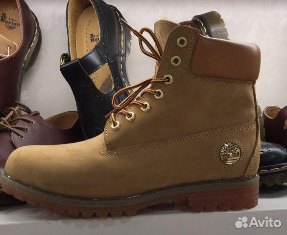 Ботинки Timberland с мехом   Festima.Ru - Мониторинг объявлений 1b55d42b780