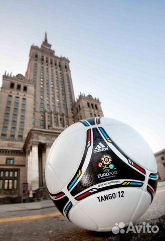 Мяч футбольный adidas tango 12 euro 2012 OMB купить в Кабардино ... 17be5a5abc1f0