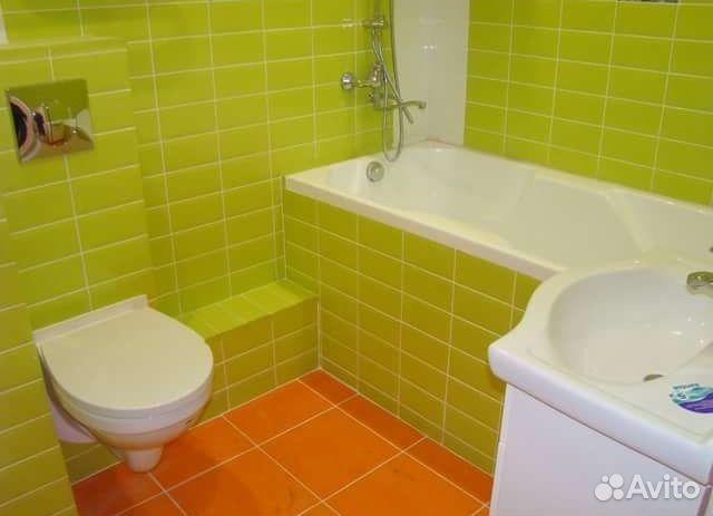 Авито ремонт ванной и туалета
