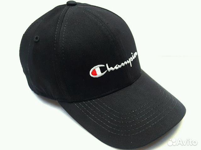 Кепка бейсболка мужская Champion (black) купить в Москве на Avito ... bd971ae4e2fd9