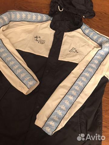 Куртка Kappa (с лампасами)   Festima.Ru - Мониторинг объявлений 75fcbc70435