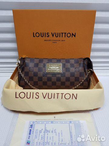 3f5413eb4581 Louis Vuitton Eva Сумка Damier Ebene Луи Виттон Ев | Festima.Ru ...