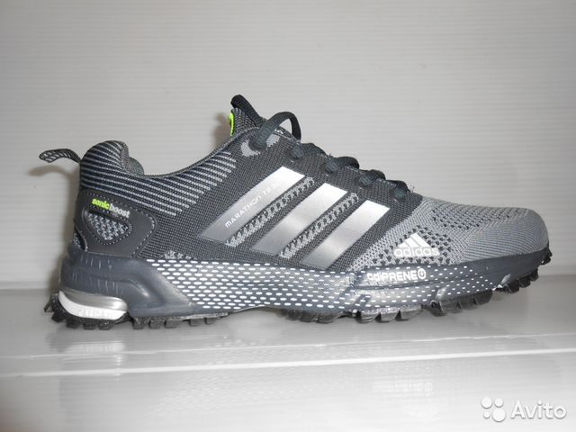 8c17c233025f Кроссовки adidas marathon TR(марафон) серые купить в Москве на Avito ...