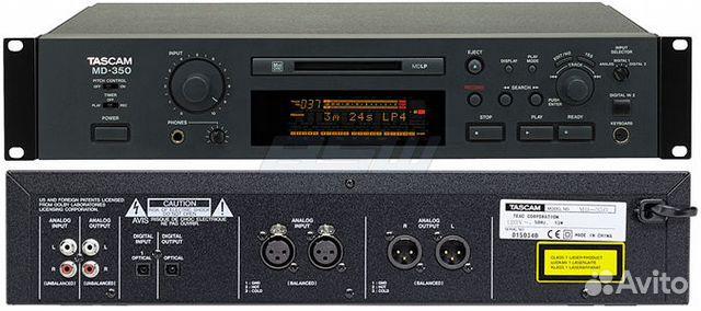 Tascam MD-350 - цифровой минидисковый рекордер
