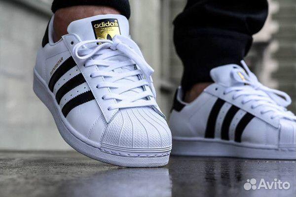 Кроссовки Adidas superstar мужские купить в Свердловской области на ... 0314710fcf528