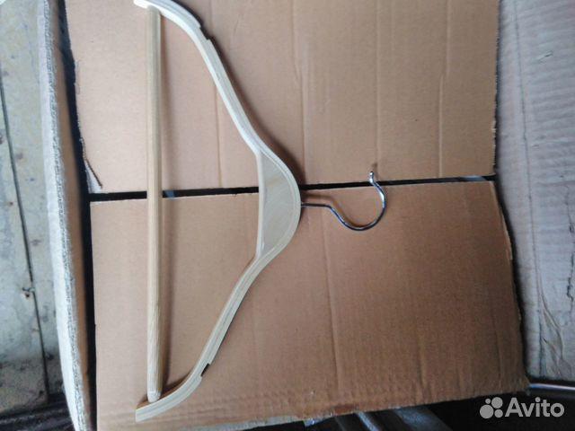 Новые деревянные плечики вешалки 89502092284 купить 3