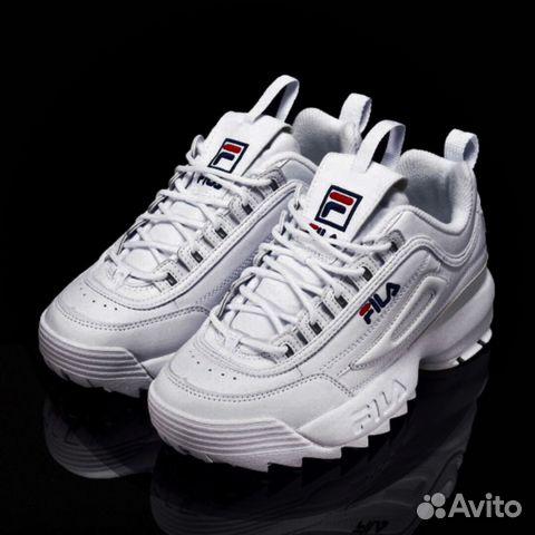 e6a4785b648c Кроссовки Fila Disruptor 2 белые кожа (36-40) купить в Республике ...