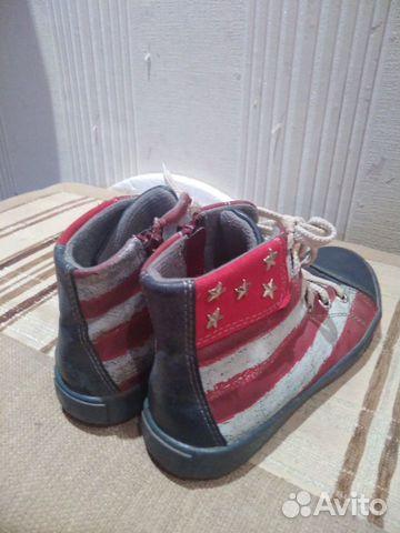 Ботинки на холодное лето, весну, осень, 30 размер 89815055044 купить 2