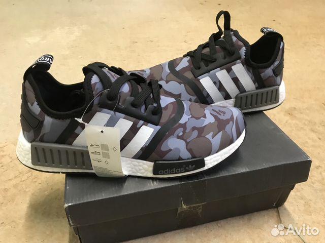 кроссовки Adidas Nmd X Bape купить в краснодарском крае на Avito