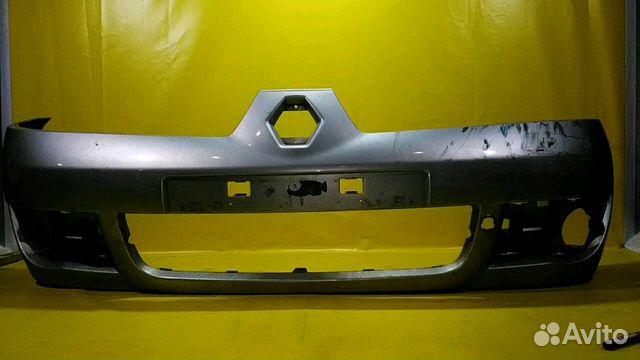 передний бампер renault symbol 2006