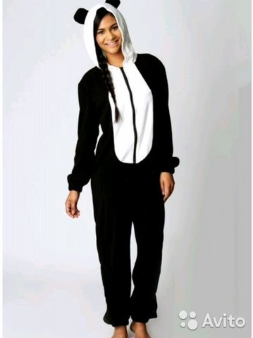 Пижама кигуруми панда XL-175 96 купить в Саратовской области на ... 341a4543ac25b