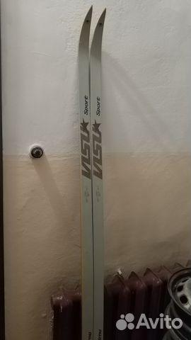 Беговые лыжи visu sport новые 190см— фотография №1. Адрес  Санкт-Петербург  ... 49f568e7b76
