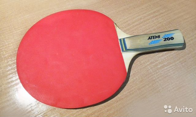 Ракетка для настольного тенниса Atemi 200 d4e576466a27d