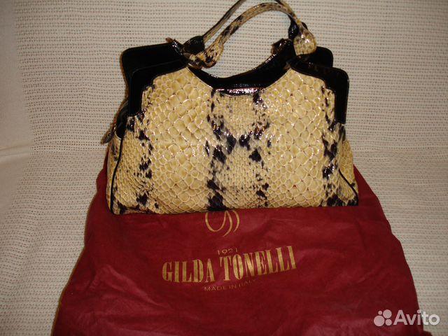 65ec166b0cf9 Женская сумка Gilda Tonelli   Festima.Ru - Мониторинг объявлений
